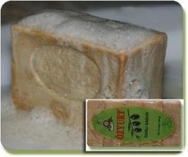 Zeytinyağlı Yeşil Nizip Sabunu